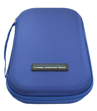 Carrying Pouch for Littmann Stethoscope Blue