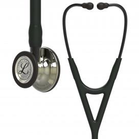 Стетоскоп Littmann Cardiology IV, черная трубка, акустическая головка цвета шампань, дымчатое оголовье, 69 см, 6179