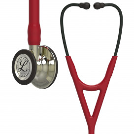 Littmann Cardiology IV Stethoscope 6176, Champagne-Finish Chestpiece, Burgundy Tube