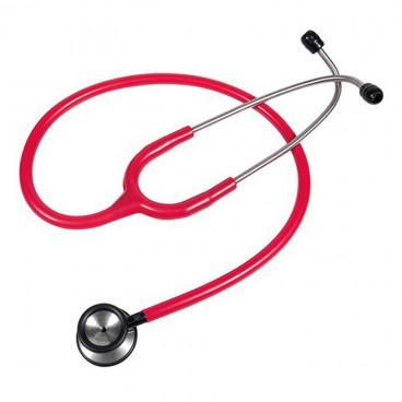 Kawe стетоскоп педиатрический из алюминия красный