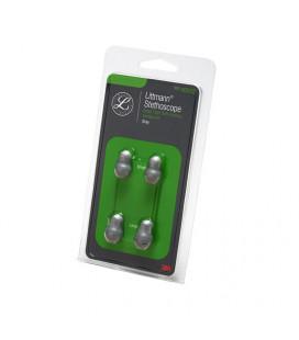 Набор ушных наконечников Littmann, малые/большие, цвет серый, 40002