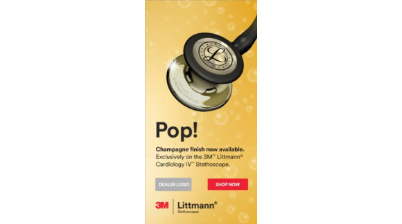NEW Litmann Cardiology IV stethoscope